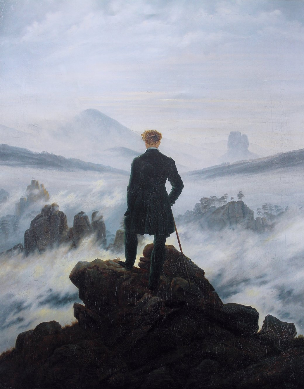 Wanderer over the sea- Wikimedia- Thus spoke the Terminator