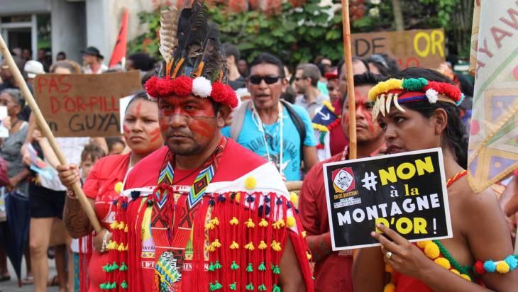 La Montagne D_or _ une défaite pour l_environnement. Anthony Ruiz. Picture 1 _ Manifestation